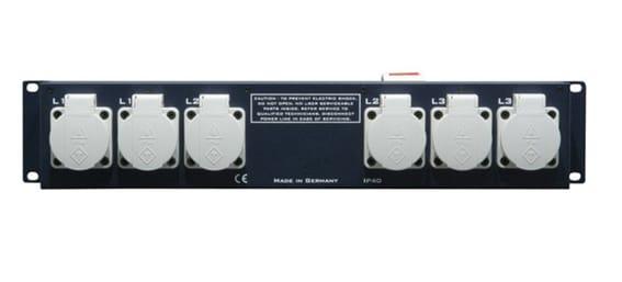 Multiprise de rack 32A – 2U