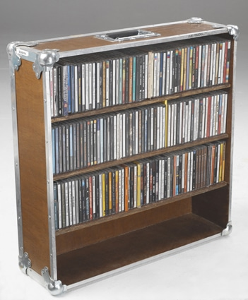 Flightcases Disques Cd Vinyls Transport Avec Assurance Et Protection