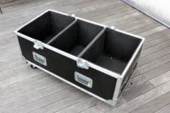 Flightcases type malle rangement & stockage