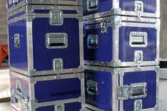 D - Empilement flightcases